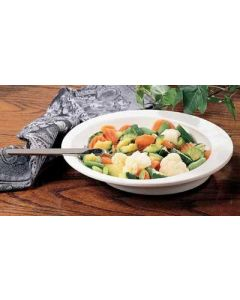 Easy Scoop Dish, Rounded, Nonskid, 9in