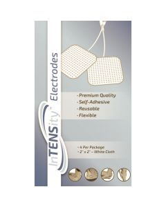 InTENSity Cloth Electrodes, 2in x 2in