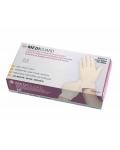 Medline MediGuard Synthetic Vinyl Exam Gloves M 1000Ct