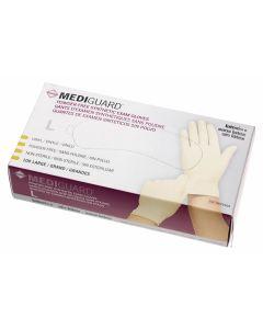 MediGuard Powder-Free Stretch Vinyl Exam Gloves, Size L, Case of 1000