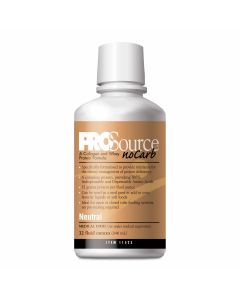 ProSource NoCarb Liquid Protein Supplements, Neutral Flavor, 30 fl. oz., Case of 4