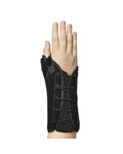 Wrist Lacer with Thumb Support, 8in, Right