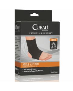 CURAD Performance Neoprene Ankle Support Open Heel S 1Ct