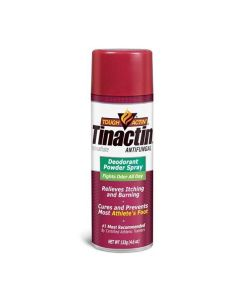 Tough Actin' Tinactin Antifungal Powder Spray, 4.6oz
