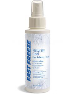 Fast Freeze Naturally Cool Pain Relief Spray, 4oz