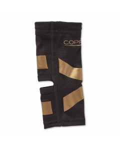 Copper Fit Ankle Compression Sleeve with Kinesiology Bands