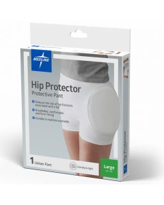 Medline Premium Closed Hip Protector White Large 1Ct