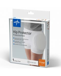 Medline Premium Closed Hip Protector White XL 1Ct