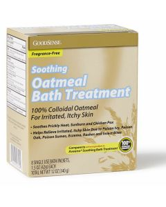 GoodSense Soothing Oatmeal Bath Treatment, 12oz