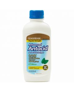 GoodSense Reg Mint Antacid/Antigas Liquid 12oz 1Ct