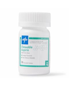 Aspirin Pain Reliever Chewable Tablets 81mg