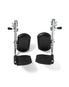 Medline Replacement Excel Wheelchair Leg Rest Assembly 2Ct