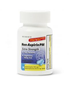Acetaminophen PM Extra-Strength Caplets 500mg 50Ct