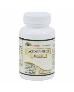 Acidophilus Probiotic Tablets, Bottle of 100
