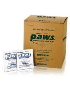 P.A.W.S. Antimicrobial Premoisturized Towelettes, Box of 100