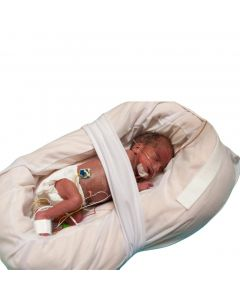 Z-Flo Neonatal Full-Body Positioner with Cover, Medium, 16in x 24in