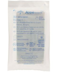 """Aloetouch Sterile 12"""" Powder-Free Nitrile Exam Gloves, Size S"""
