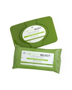 Aloetouch SELECT Premium Spunlace Personal Cleansing Wet Wipes