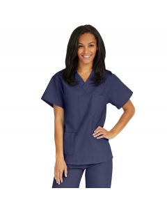 AngelStat Unisex Reversible V-Neck Scrub Top