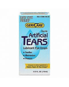 Artificial Tears Lubricant Eye Drops 1/2oz 1Ct OTC018105 by Geri-care Pharmaceuticals