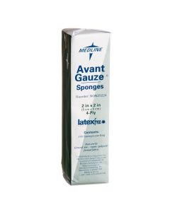 "Avant Gauze NS Nonwoven Sponge 4ply 2""x2"" 200 Count"
