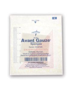 """Avant Gauze St Nonwoven Sponge 2s 4ply 2""""x2"""" 100 Count"""