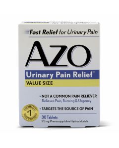 AZO Urinary Pain Relief Tablets 30 Count OTC001530 by Medline