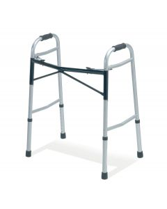 Medline Guardian Bariatric Folding Walker 650lb Cap 2Ct