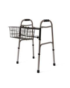 Medline Basket Accessory for 2-Button Walker 2 Count