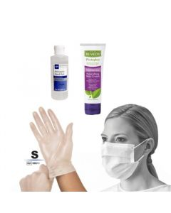 PPE Bundle with Gloves Size Small