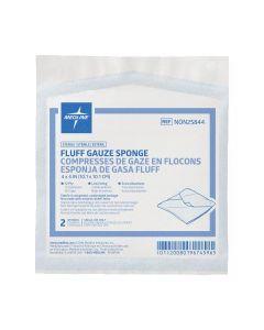 Sterile Bulkee II Extra Absorbent Super Fluff Sponge