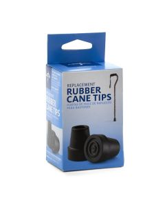 Medline Replacement Tips for 3/4in Standard Cane 6Ct