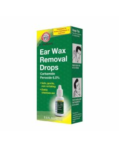 Dr. Sheffield's Ear Wax Removal Drops, 6.5% Carbamide Peroxide, 15 mL Bottle, One