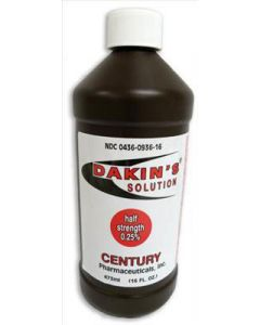 Dakin's Half Strength Solution by Century Pharmaceuticals