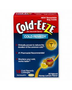Cold-EEZE Lozenges Honey Lemon 18Ct OTC002108 by Medline