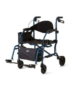 Combination Rollator and Transport Chair
