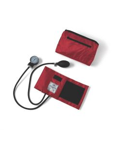 Compli-Mates Aneroid Blood Pressure Monitor Red 1Ct