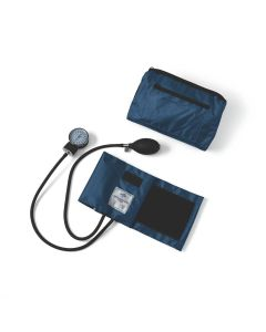 Compli-Mates Aneroid Blood Pressure Monitor Blue 1Ct