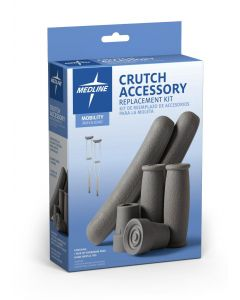 Medline Guardian Crutch Acessory Replacement Kit 4Ct