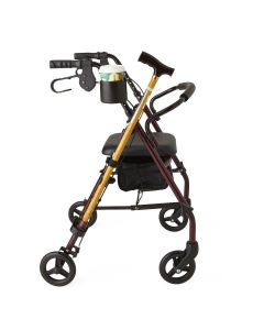 Medline Cup and Cane Holder for Rollator 6 Count