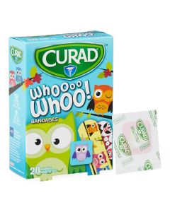CURAD Owl Bandages, Assorted Sizes