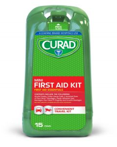 Curad Mini 15-Piece First Aid Kit