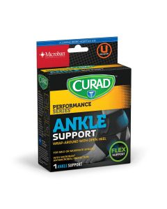 CURAD Performance Series Adjustable Ankle Wrap