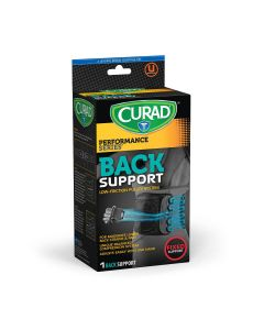 CURAD Performance Series Back Support with Pulley 1Ct