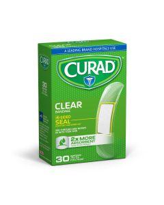 CURAD Clear Adhesive Bandage 30Ct