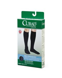 CURAD Knee-High Medical Compression Dress Socks