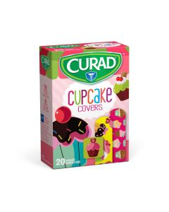 CURAD Cupcake Cover Bandage, Assorted Sizes, Case of 480