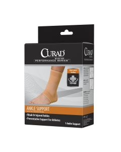 CURAD Performance Elastic Open Heel Ankle Support S 1Ct