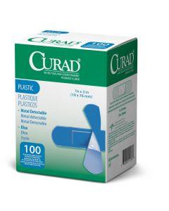 CURAD Food Service Metal-Detectable Adhesive Bandages