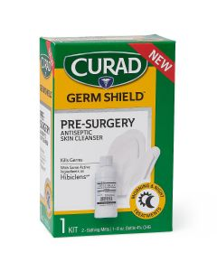 CURAD Germ Shield Pre-Surgery Skin Cleanser Kit 1Ct